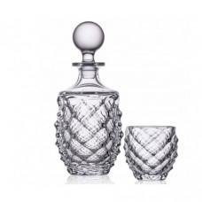 Набор для виски Bohemia Morris b99999-37318 - 7 предметов (стакан 340мл, графин 750мл)