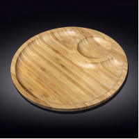 Набор бамбуковых блюд Wilmax Bamboo WL-771045 (35,5см-2 секции)