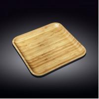Бамбуковое блюдо Wilmax Bamboo WL-771026  (33х33см)
