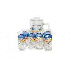 Кувшин со стаканами Arcopal Florine C6831 (кувш.1,6л,стакан.270мл-6шт)-7пр