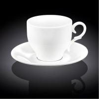Набор чашек с блюдцами для кофе Wilmax WL-993103 (90мл)