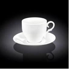 Набор чашек с блюдцами для капучино Wilmax WL-993104 (170мл)