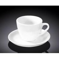 Набор чашек с блюдцами для кофе Wilmax WL-993174 (110мл)