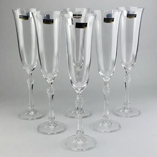 Набор бокалов для шампанского Bohemia Parus 6 шт b1SF89 (190мл)