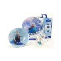 Детский набор Luminarc Disney Frozen L0872 (чаш.250мл,тар.19см,салат.16см)-3пр