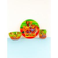 Набор детской посуды Legend Барбоскины 3 предмета