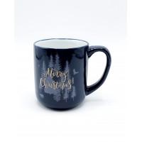 Кружка Milika Merry Christmas Blue M0420-124-02-117B (480мл)