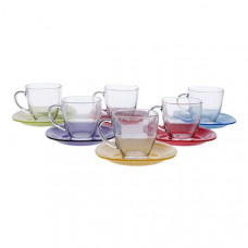 Чайный сервиз Luminarc Carina Rainbow J5978 (220мл) 12пр