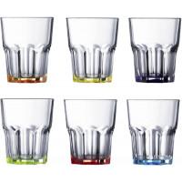 Набор низких стаканов Luminarc Bright Colors New America 6 шт J8933 (270мл)