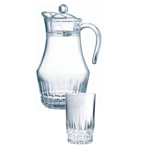 Кувшин со стаканами Arcopal Lancier L4985 (кувш.1,8л,стак.270мл-6шт)-7пр