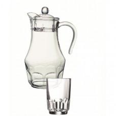 Кувшин со стаканами Arcopal Roc L4987 (кувш.1,8л,стак.270мл-6шт)-7пр