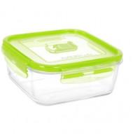 Квадратный пищевой контейнер Luminarc Pure Box Active Green N0940 (1220мл)