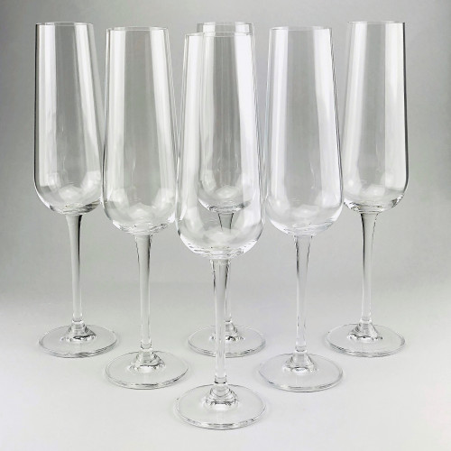 Набор бокалов для шампанского Bohemia Ardea 6 шт b1SF57 (220мл)