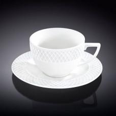 Набор чашек с блюдцами для капучино Wilmax Julia Vysotskaya WL-880106-JV/AB (170мл) 6 кружек, 6 блюдец