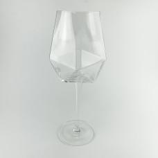 Бокал для вина 650 мл abra ab02-1 прозрачный