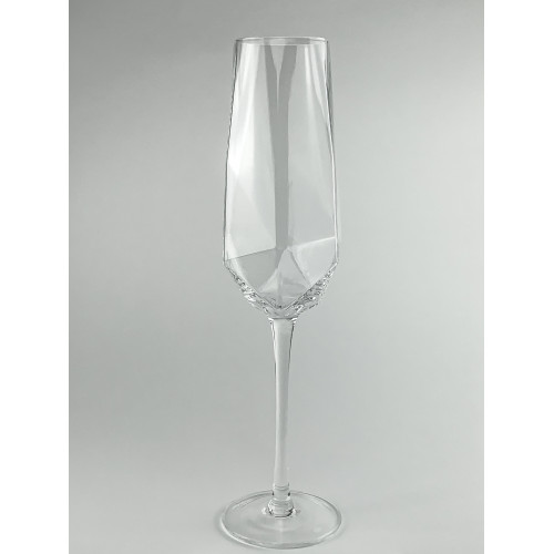 Бокал для шампанского 350 мл abra ab01-1 прозрачный