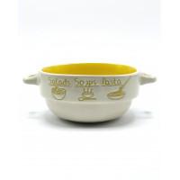 Тарелка глубокая Milika Soup Party Yellow М04100-320В (680мл)