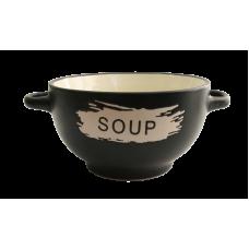Супница Milika Black Stone Soup M04100-7499 (650мл)