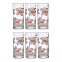 Набор высоких стаканов Luminarc Sweet Impresion 6 шт N0772 (270мл)