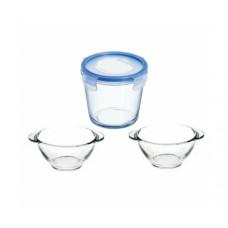 Суповой набор Luminarc Soup'Arty (ёмкость 840мл, бульонница 560мл-2шт)–3пр