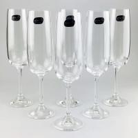 Набор бокалов для шампанского Bohemia Nancy b40300 (180мл)