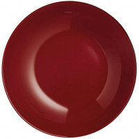 Тарелка глубокая Luminarc Arty Burgundy P1004  (20см)