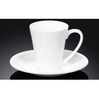 Набор чашек с блюдцами для кофе Wilmax WL-993054 (110мл)