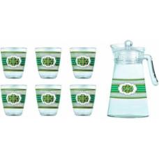 Кувшин со стаканами Luminarc Valery L3958 (кувш.1,3л,стак.310мл-6шт)-7пр