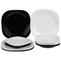 Сервиз столовый Luminarc Carine Black&White D2380-18пр