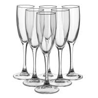 Набор бокалов для шампанского Luminarc Signature 6 шт H8161 (170мл)