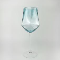 Бокал для вина Abra 600 мл ab02 голубой