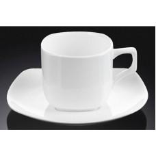 Набор чашек с блюдцами для кофе Wilmax WL-993041 (90мл)