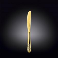 Нож десертный Wilmax Julia Vysotskaya Gold WL-999236 / 1B (20,5см)