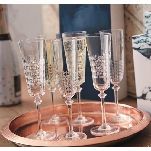 Набор бокалов для шампанского  Luminarc Ninon N4145 (170 мл)  3 шт