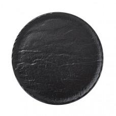 Блюдо круглое Wilmax Slatestone Black WL-661128/A (30,5 см)