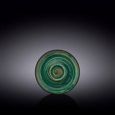 Блюдце Wilmax Spiral Green WL-669534 / B (12 см)