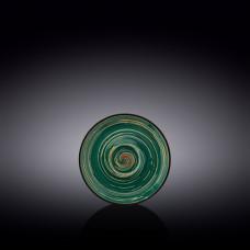Блюдце Wilmax Spiral Green WL-669533/B (11 см)