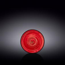 Блюдце Wilmax Spiral Red WL-669233 / B (11 см)