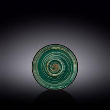 Блюдце Wilmax Spiral Green WL-669535/B (14 см)