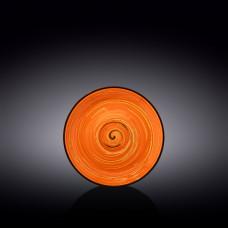 Блюдце Wilmax Spiral Orange WL-669336/B (15 см)