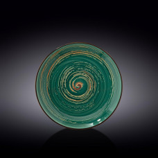 Тарелка круглая Wilmax Spiral Green WL-669513/A (23 см)