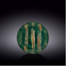 Тарелка круглая Wilmax Scratch Green WL-668511/A (18 см)