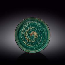 Тарелка Wilmax Spiral Green WL-669519/A (23 см)