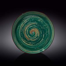 Тарелка Wilmax Spiral Green WL-669520/A (28 см)