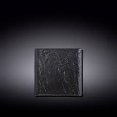 Тарелка квадратная Wilmax Slatestone Black WL-661104/A (13х13 см)