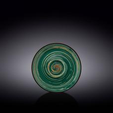 Блюдце Wilmax Spiral Green WL-669536/B (15 см)