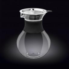 Декантер для кофе с металлическим фильтром и силиконовым держателем Wilmax Thermo WL-888854 / A (950 мл)